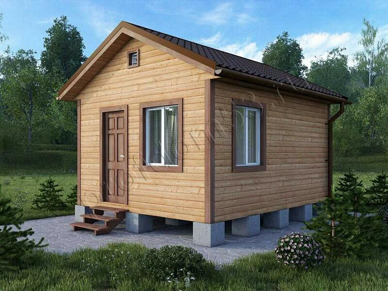 Садовый дом 4х4